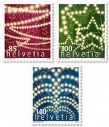 Новогодние марки Швейцарии
