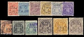 Почтовые марки колонии Великобритании