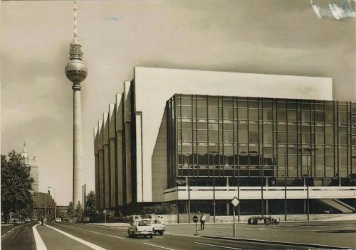 открытка Германии Дворец