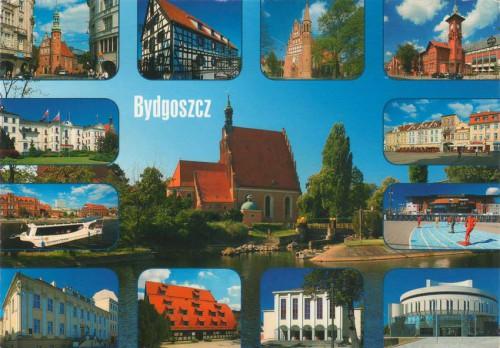 Открытка Польши - Виды Быдгоща
