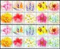 Флора на марках: почтовые марки Тайваня с цветами