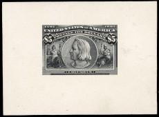 Проба почтовой марки США