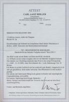 Сертификат почтового конверта Шлезвиг-Гольштейна