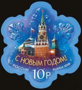 Россия - снежинка