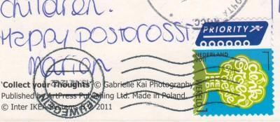 стандарт Нидерландов на открытке